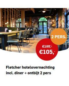AD Webwinkel   Fletcher hotelovernachting incl. diner + ontbijt